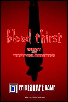 Blood Thirst Escape Room Phoenix Arizona
