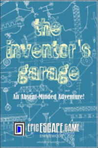 The Inventor's Garage Escape Room Englewood Colorado