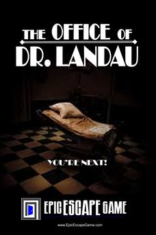 The Office of Dr. Landau Escape Room Muncie Indiana