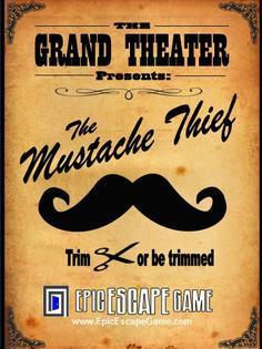 The Mustache Thief Escape Room Denver Colorado