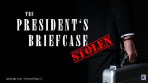 The President's Briefcase Escape Room Greenwood Village