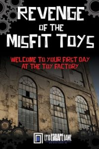 epic escape game escape room new river gorge west virginia revenge of the misfit toys
