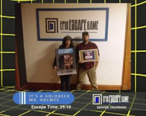 epic escape game escape room denver colorado its a holodeck mr holmes