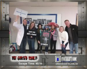 epic escape game escape room greenwood village Colorado the cursed vault