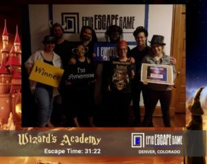 epic escape game escape room denver colorado wizards academy